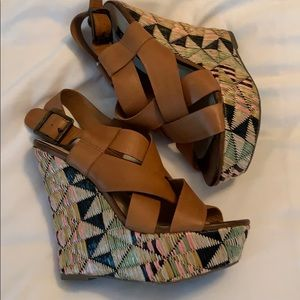 """🌸🌸 3 for $15 Shoe mint wedges """"Diane"""""""